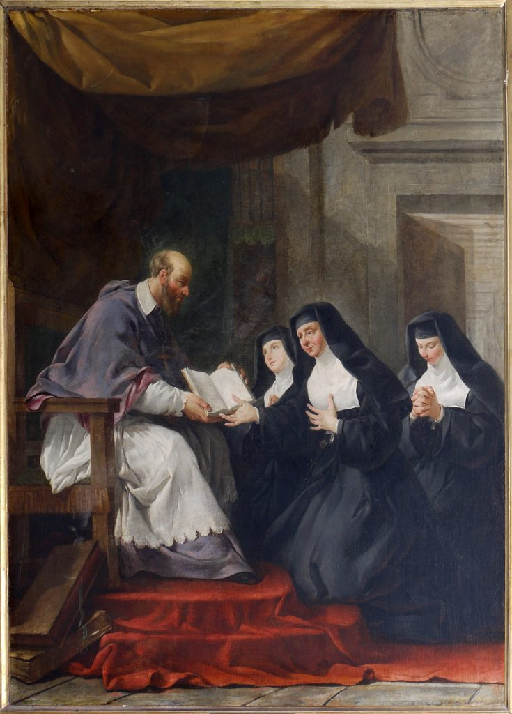Saint-François-règle-Visitation