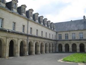 Cloître de l'ancien monastère de la Visitation